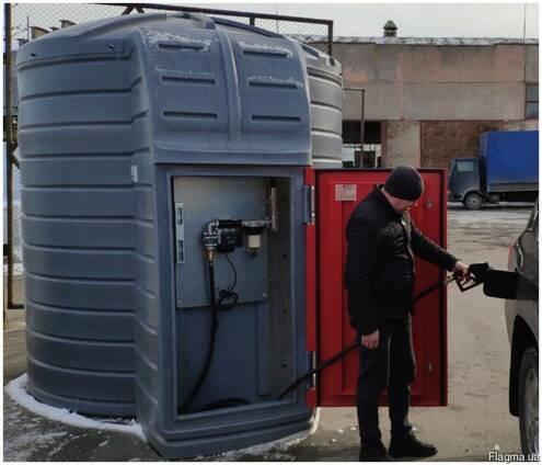 Резервуар 10тон с модулем PIUSI Италия для диз топлива