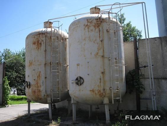 Резервуар, цистерна, ёмкость металлическая от 1 до 100 м3