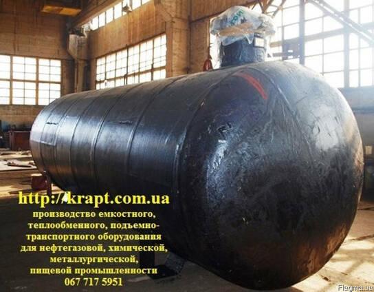 Резервуар для СУГ 25 м.куб, подземный