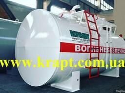 Резервуар двустенный двухсекционный для мини заправка