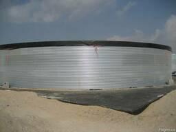 Резервуар на 2000 кубов для хранения жидкостей, 2000 м. куб.