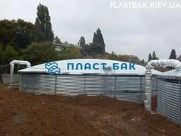Резервуар пожарный 200 м3 вода цена подземный размер