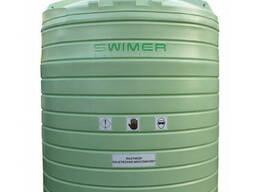 Резервуар Swimer 12500 Agrotank для рідких добрив КАС (ємність, бочка, єврокуб)