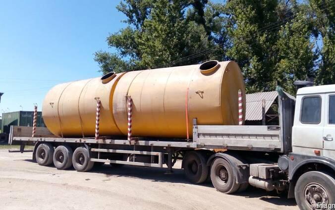Резервуары, цистерны, бочки, ёмкости металлические 1-100 м³