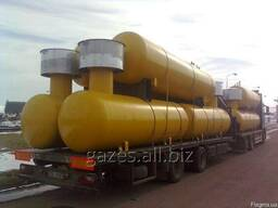 Резервуары для сжиженного газа (газгольдеры), от 2, 7 до 100м3