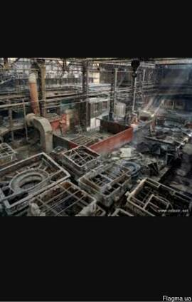 Режем на металлолом заводы предприятия промышленные базы