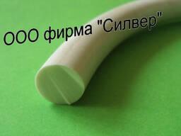 Резина белая круглого сечения