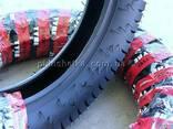 Резина на скутер 130-90-15 бескамерная шоссейная - фото 2