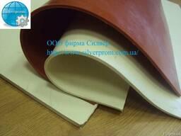 Резина силиконовая листовая 500х500х2мм