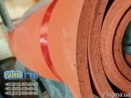 Резина силиконовая пористая