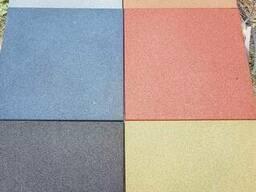 Резиновая плитка резиновое покрытие для площадок спортзалов