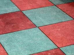 Резиновое плитка покрытие