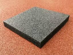 Резиновое покрытие для пола 500х500х40 мм.