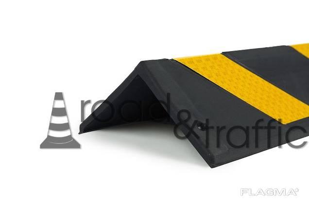 Резиновый угловой парковочный демпфер, защита углов и стен
