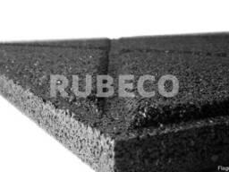 Резиновые плиты 50см*50м*3см. 580 грн. в наличии 117м2 - фото 2