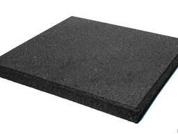 Резиновые плиты террасные , 50 см х 50 см, толщина 30 мм