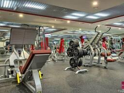 Резиновые покрытия для тренажёрных залов и фитнеса