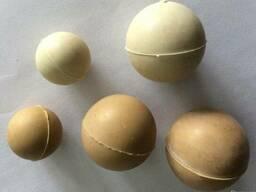 Резиновые шарики для очистки решет резиновых шарики Ф28, Ф30