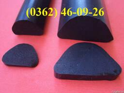 Шнуры резиновые круглого и прямоугольного сечения