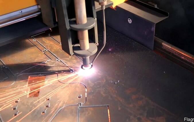 Резка металла плазменным станком ЧПУ