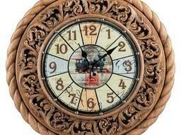 Резные настенные часы Под заказ