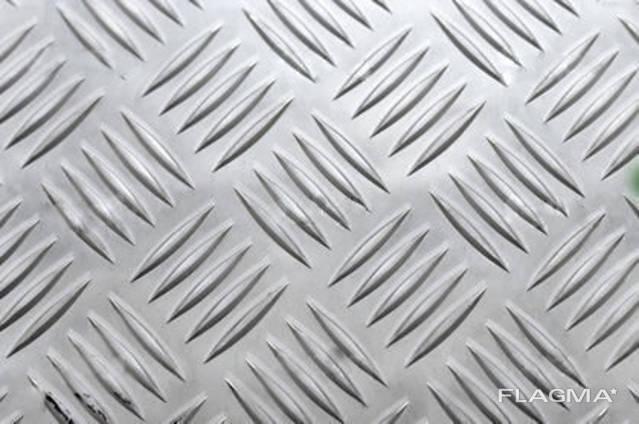 Лист рифлёный алюминиевый АД0
