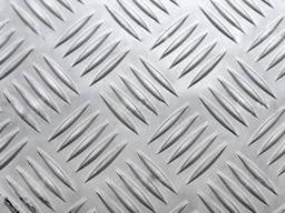 Лист алюминиевый рифленый Квинтет 3, 0х1250х2500 мм цена