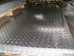 Рифленый лист алюминиевый АД0(1050)