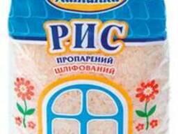 Рис длиннозерный шлифованный пропаренный 1 кг