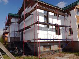 Риштування фасадне, рамного типу, полегшене, заводське, серт