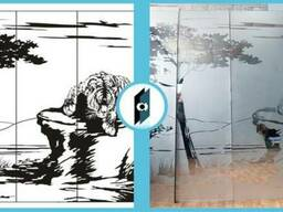 Рисунки для стекла и зеркала