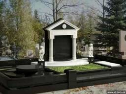 Ритуальные комплексы из гранита, мрамора