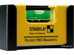 Рівень-міні магнітний Stabila Pocket PRO Magnetic 7 х 2 х 4 см