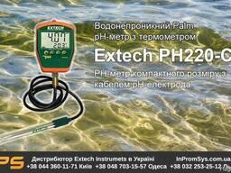 РН метр водонепроницаемый наладонный Extech PH220-C