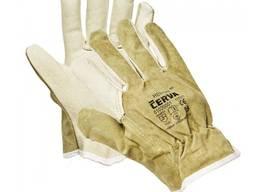 Робочі захисні шкіряні рукавички HERON WINTER.