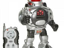 Робот на радиоуправлении 9184, серо-красный