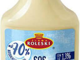 Roleski соус йогуртовый c жареным кунжутом 325г