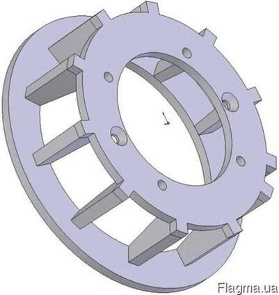 Ролик металлический приводнный Grimme (шаг 40) 006.00347