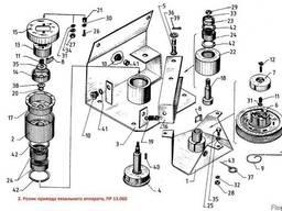 Ролик привода вязального аппарата ПРФ, ребристый ПР 13. 060