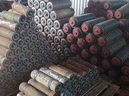 Ролики конвейерные: полимерные, металические и футерованные