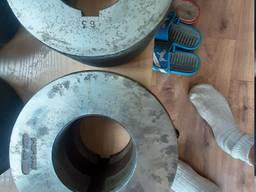 Ролики резьбонакатные ГОСТ 9539-72 М16 134х63х80 и др.