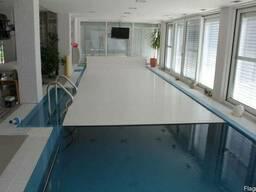 Роллеты для бассейнов 3х8. Автоматическое покрытия