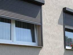 """Защитные роллеты """"Alutech"""" (Алютех) на окна и двери."""