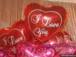 Романтические поздавления, воздушные шары