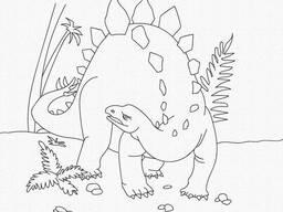 """Роспись на холсте. Art Craft """"Динозавр"""" 25х30 см (15521-AC)"""