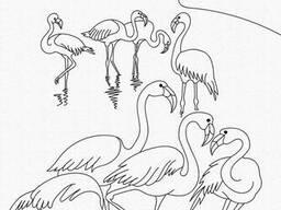 """Роспись на холсте. Art Craft """"Фламинго"""" 25х30 см (15511-AC)"""
