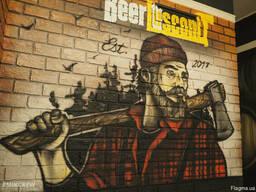 Роспись стен, граффити - оформление в Крыму