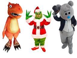 Ростовая кукла, костюм для аниматора, мишка тедди, гринч, динозавр