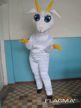 Ростовая кукла коза, пошив под заказ