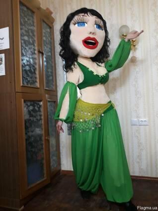 Ростовая кукла Лейла, изготовление ростовых кукол